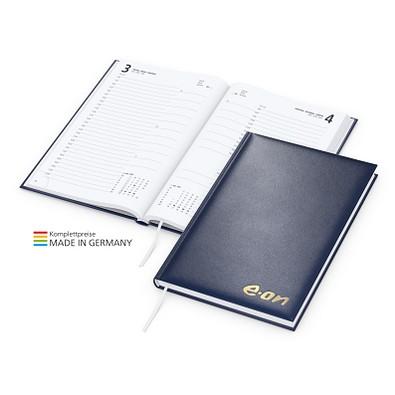 geiger notes Buchkalender Basic Bestseller, inkl. Goldprägung, dunkelblau