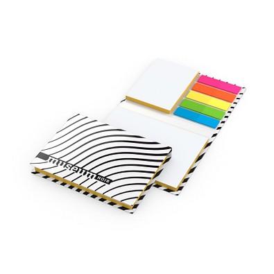 geiger notes Notizset Budapest White mit Farbschnitt, Bestseller, inkl. Druck, matt, gelb