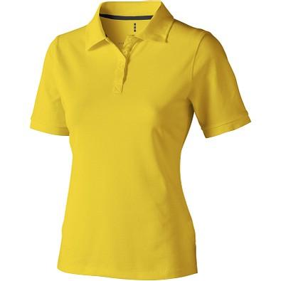 ELEVATE Damen Poloshirt Calgary, gelb, XS