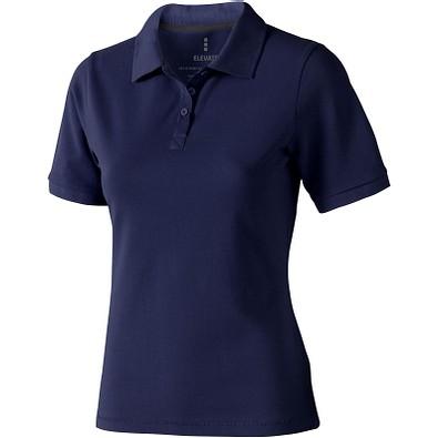 ELEVATE Damen Poloshirt Calgary, dunkelblau, S