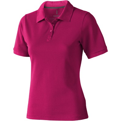 ELEVATE Damen Poloshirt Calgary, rosa, L