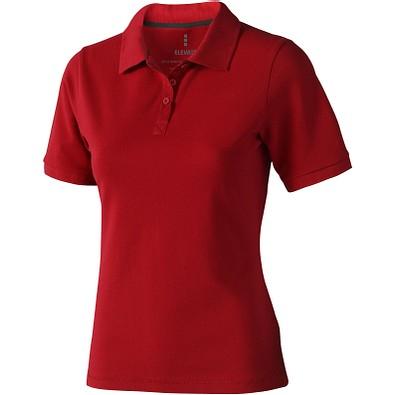 ELEVATE Damen Poloshirt Calgary, rot, L