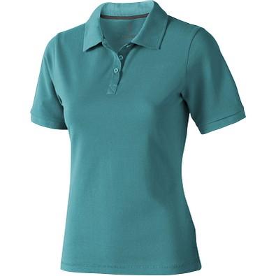 ELEVATE Damen Poloshirt Calgary, türkis, S