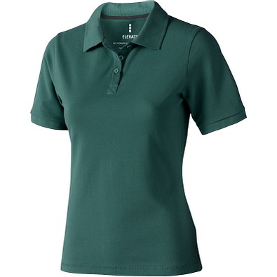 ELEVATE Damen Poloshirt Calgary, waldgrün, S