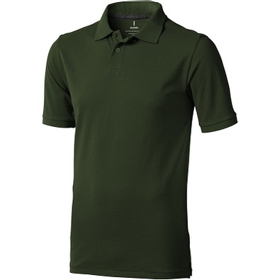 ELEVATE Herren Poloshirt Calgary, armeegrün, XL