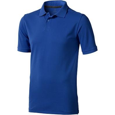 ELEVATE Herren Poloshirt Calgary, blau, XL