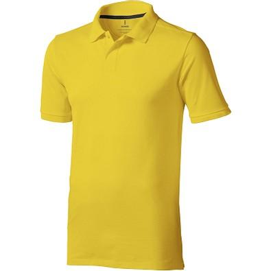 ELEVATE Herren Poloshirt Calgary, gelb, XL