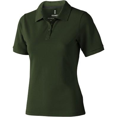 ELEVATE Damen Poloshirt Calgary, armeegrün, L
