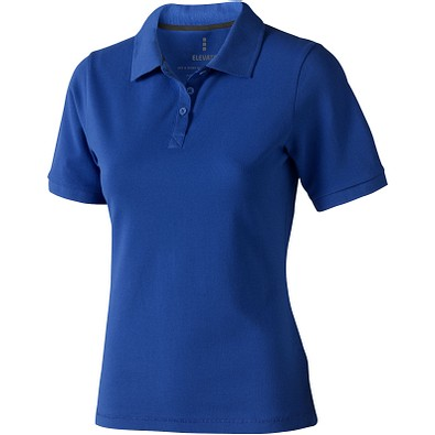ELEVATE Damen Poloshirt Calgary, blau, L