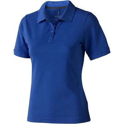 ELEVATE Damen Poloshirt Calgary, blau, S