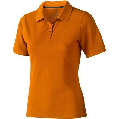 ELEVATE Damen Poloshirt Calgary, orange, L