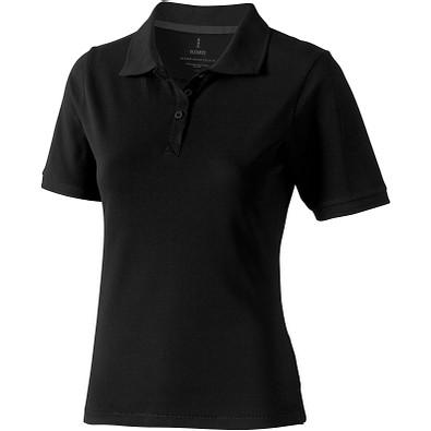 ELEVATE Damen Poloshirt Calgary, schwarz, L