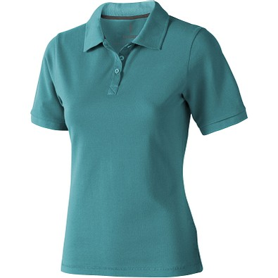 ELEVATE Damen Poloshirt Calgary, türkis, L