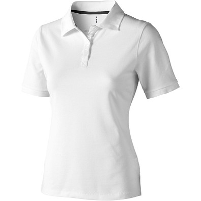 ELEVATE Damen Poloshirt Calgary, weiß, L