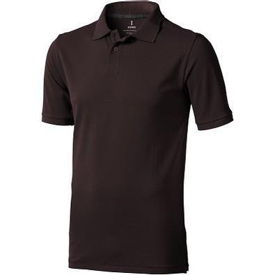 ELEVATE Herren Poloshirt Calgary, braun, XL
