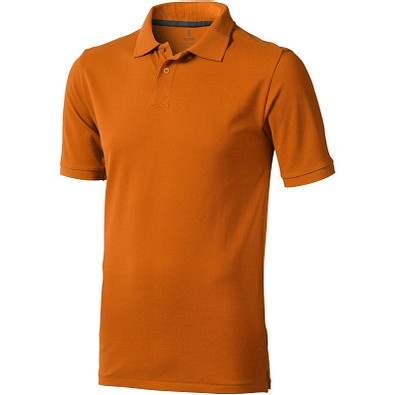 ELEVATE Herren Poloshirt Calgary, orange, XXXL