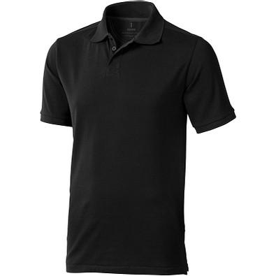 ELEVATE Herren Poloshirt Calgary, schwarz, XL