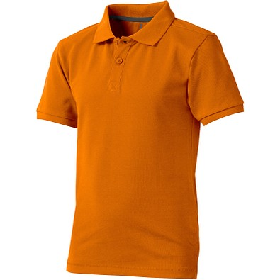 ELEVATE Kinder Poloshirt Calgary, orange, 140