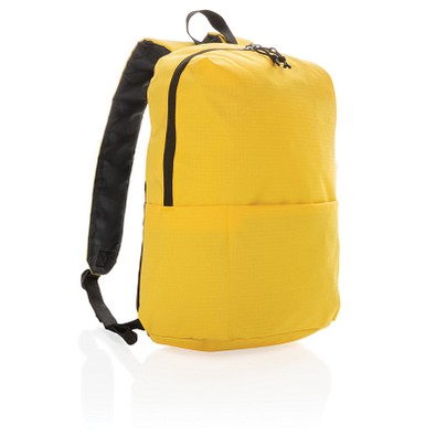 XD COLLECTION Rucksack Casual, PVC-frei, gelb
