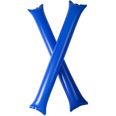 Cheer 2 aufblasbare Klatsch-Stangen, royalblau