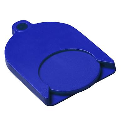 Chip-Schlüsselanhänger Ghost mit Chip, standard-blau PP