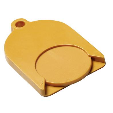 Chip-Schlüsselanhänger Ghost mit Chip, standard-gelb