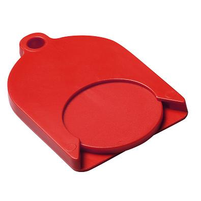 Chip-Schlüsselanhänger Ghost mit Chip, standard-rot