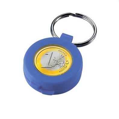 Chip-Schlüsselanhänger Safe, standard-blau PP