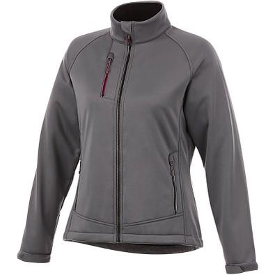 Slazenger™ Damen Softshell Jacke Chuck, grau, XL
