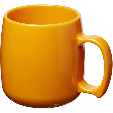 Classic 300 ml Kunststoffbecher, orange