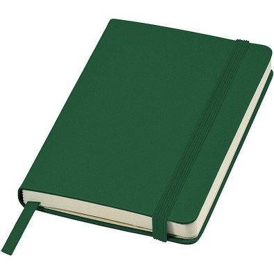 Classic A6 Hard Cover Notizbuch, Hunter Green