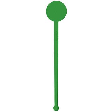 Cocktail-Rührstab Rund, standard-grün