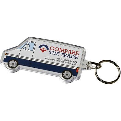 Combo Schlüsselanhänger in Van-Form