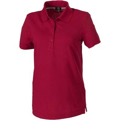ELEVATE Damen Poloshirt Crandall, rot, S