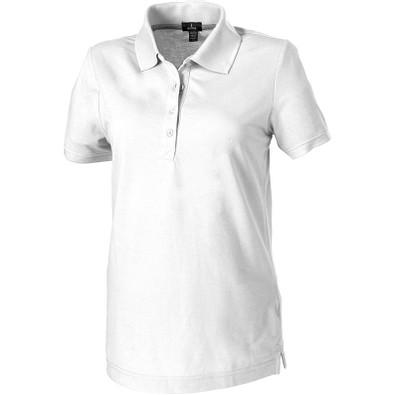 ELEVATE Damen Poloshirt Crandall, weiß, L