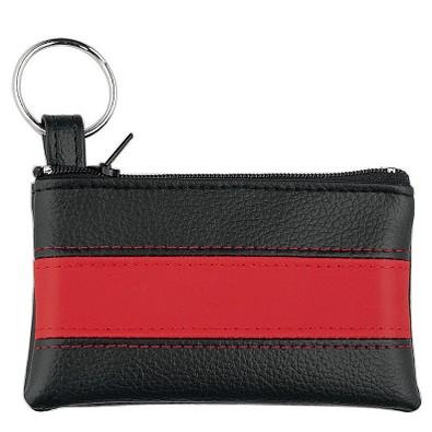 CREATIV-DESIGN Schlüsseltasche LookPlus, schwarz/rot
