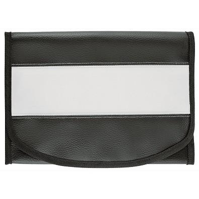 CREATIV-DESIGN Wagenpapiertasche LookPlus, schwarz/weiß