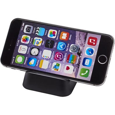 Crib Telefonhalterung aus Kunststoff, schwarz