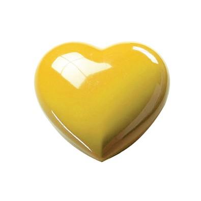 Deko-Dose Midi-Herz, standard-gelb