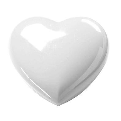 Deko-Dose Mini-Herz, weiß