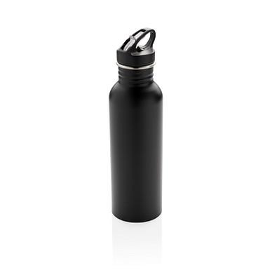 XD COLLECTION Sportflasche Deluxe aus Edelstahl, 710 ml, schwarz