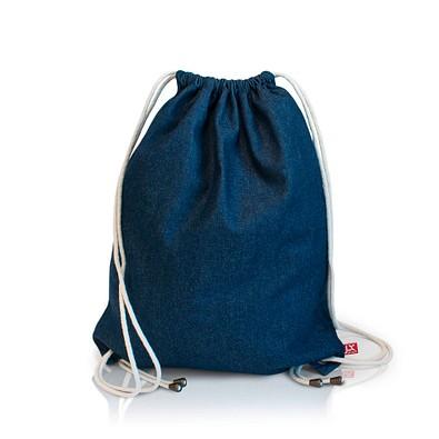 Joytex® Denim-Baumwollrucksack, blau