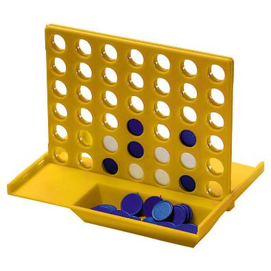 Denkspiel Gewinn mit 4, standard-gelb
