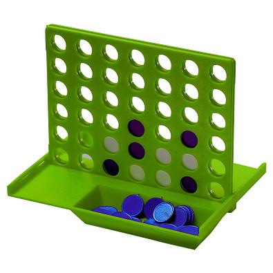 Denkspiel Gewinn mit 4, standard-grün
