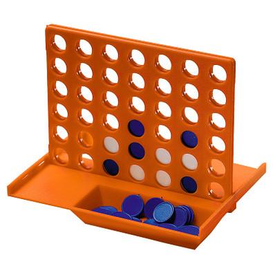 Denkspiel Gewinn mit 4, standard-orange