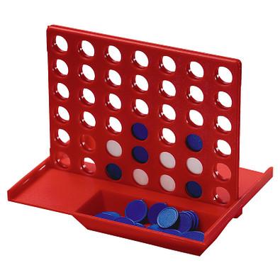 Denkspiel Gewinn mit 4, standard-rot