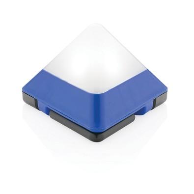 XD COLLECTION dreieckige Minilaterne, blau