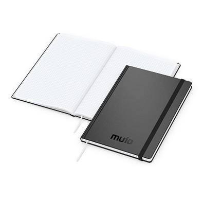geiger notes Easy-Book Comfort Bestseller Large, inkl. Prägung schwarz-glänzend, schwarz