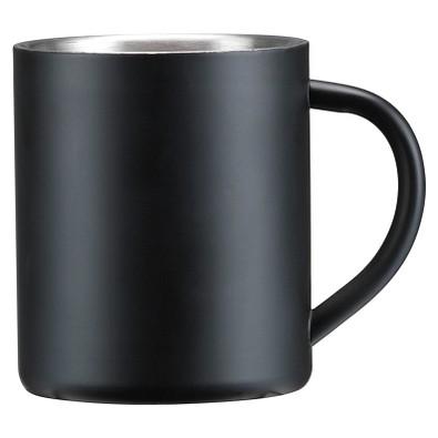 Edelstahl-Isolierbecher, 300 ml, schwarz