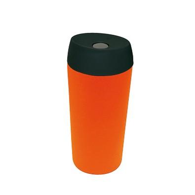Edelstahl-Isolierbecher Style, 350 ml, orange matt